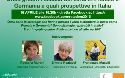 Onda green: l'ascesa dei verdi in Francia e Germania e quali prospettive in Italia